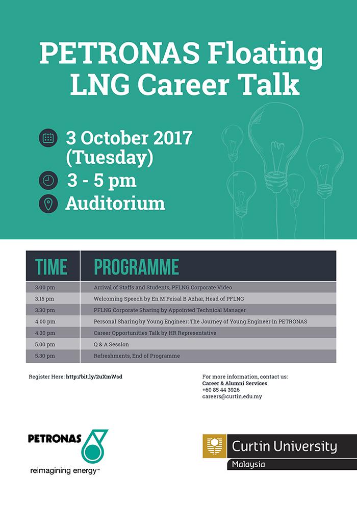 Petronas Career Talk